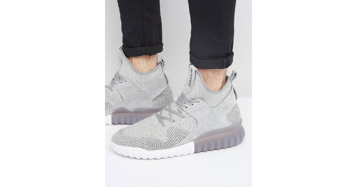 finest selection 1f41b 6af64 Lyst - adidas Originals Tubular X Pk Sneakers In Gray Bb2380 in Gray for Men