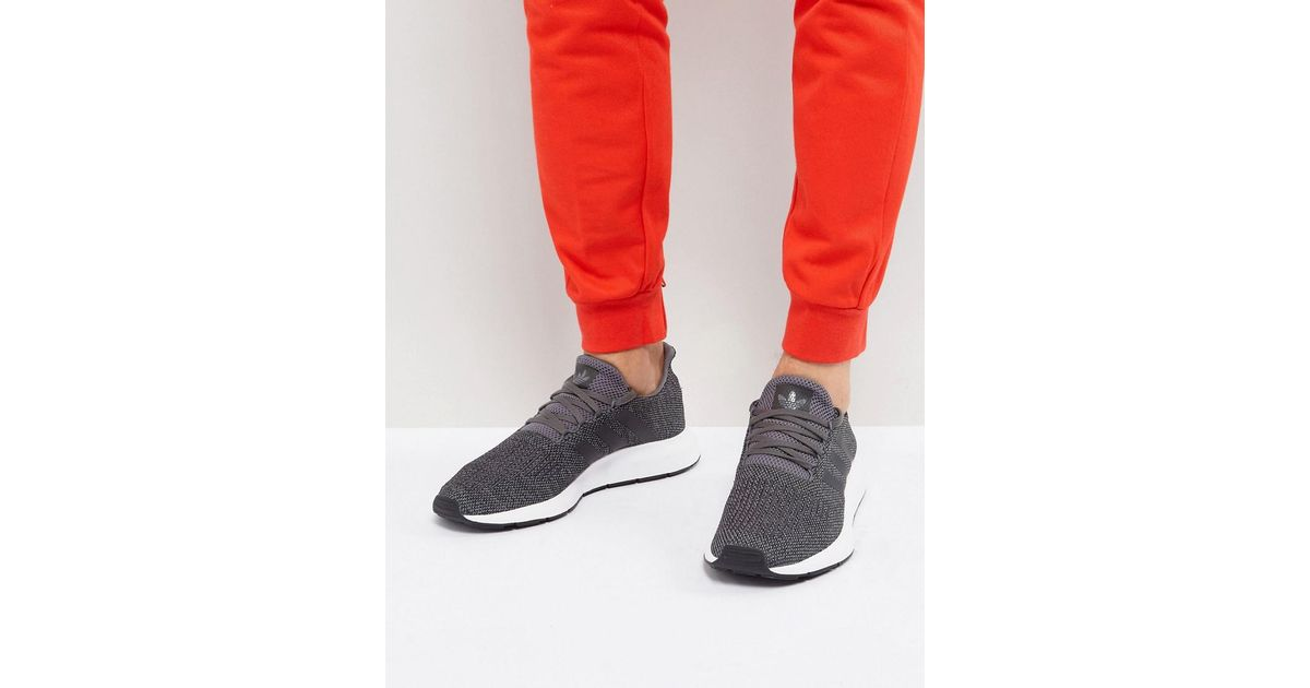 367d5d540011 Lyst - adidas Originals Swift Run Trainers In Grey Cg4116 in Gray for Men