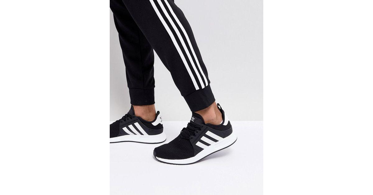 Lyst - adidas Originals X Plr Trainers In Black Cq2405 in Black for Men a61c97df3