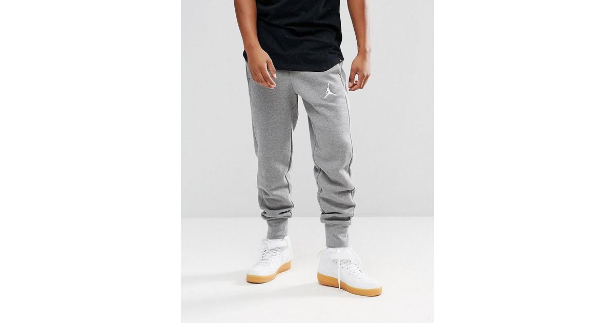 090b55fdad9576 Nike Nike Flight Fleece Joggers In Grey 823071-091 in Gray for Men - Lyst