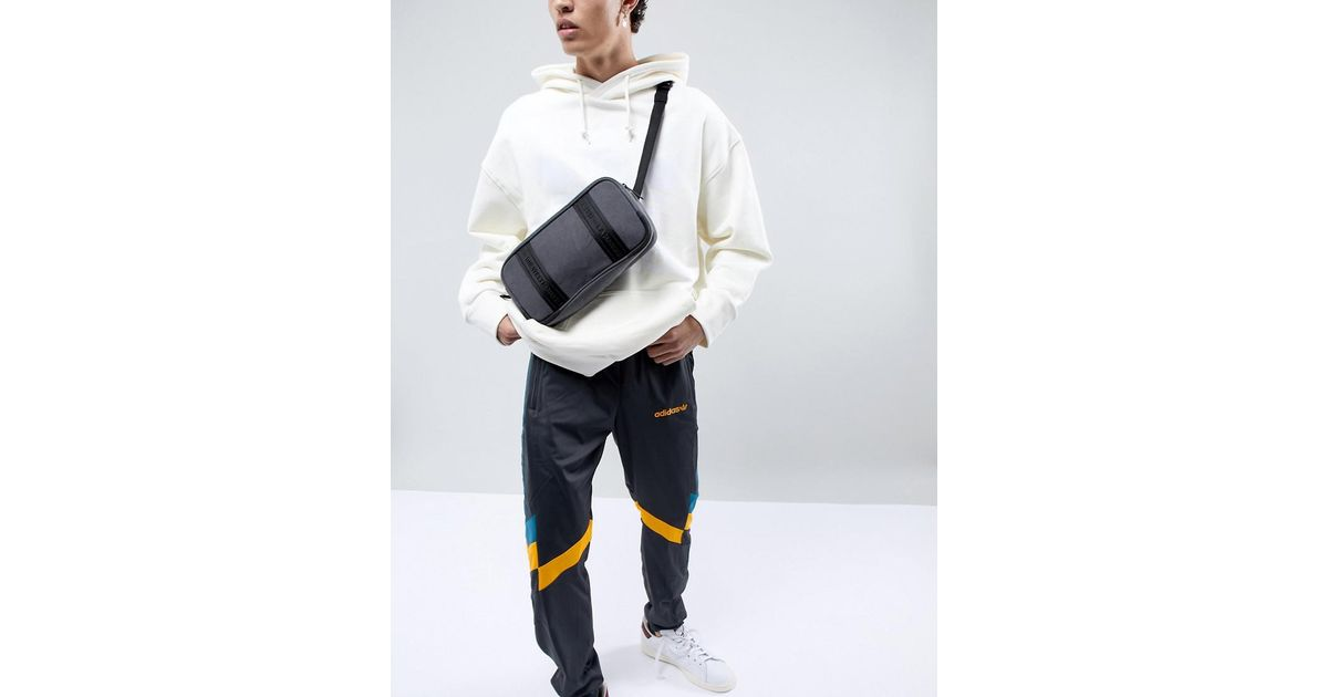 c29b3a2a8 adidas Originals Nmd Cross Body Bag In Grey Ce2380 in Gray for Men - Lyst