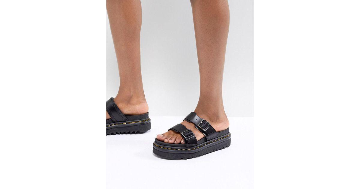 Dr. Martens Myles Two Strap Flat Sandals ecGCzc