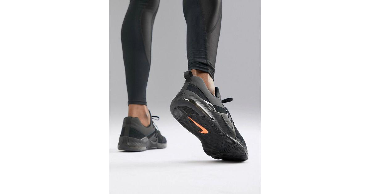 a3bb2e9ffa8aa Nike Zoom Command Trainers In Triple Black Aa3984-006 in Black for Men -  Lyst