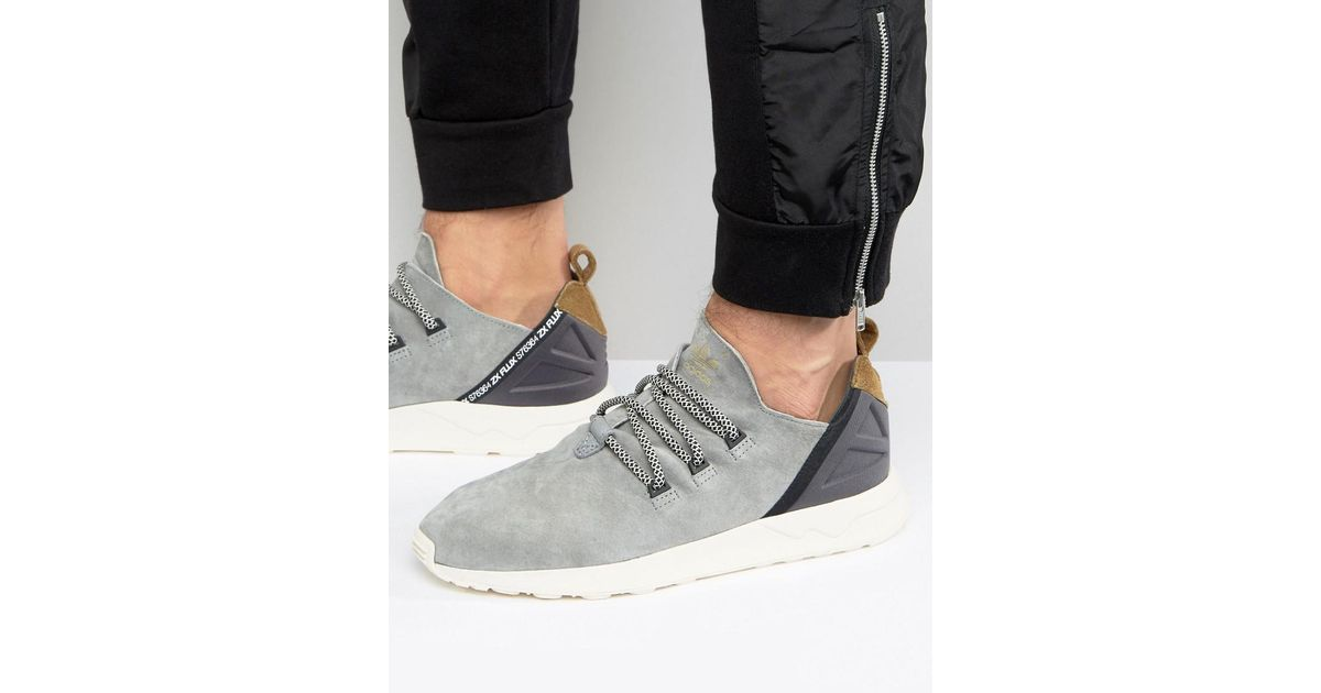 separation shoes 5cee4 0e943 adidas Originals Zx Flux Adv X Sneakers In Gray in Gray for Men - Lyst