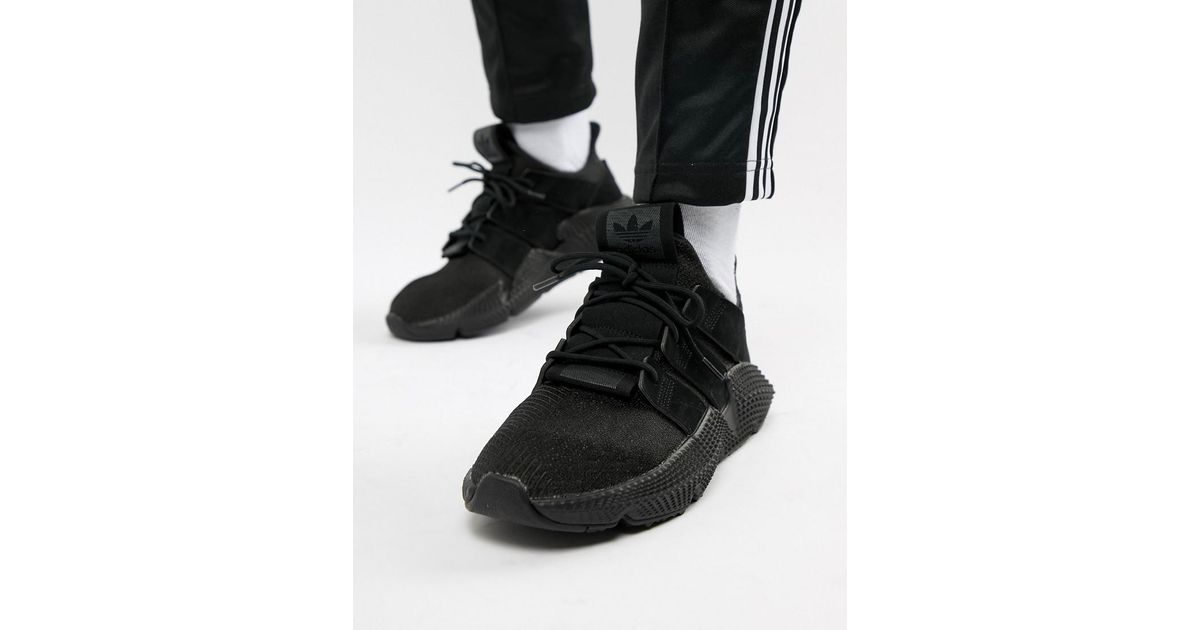 newest a1e88 4602d Lyst - adidas Originals Prophere Sneakers In Black B37453 in Black for Men