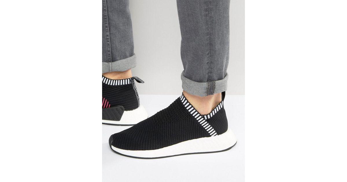 1758e39b5 Lyst - adidas Originals Nmd cs2 Pk Sneakers In Black Ba7188 in Black for Men