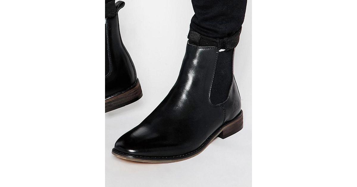 Bellfield Leather Chelsea Boots 1TP1sj2F