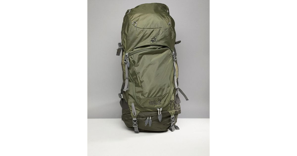 cf47847e2fa Jack Wolfskin Highland Trail Xt 50 Backpack In Khaki in Green for Men - Lyst