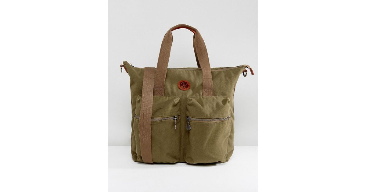 Waxed Canvas Simply Tote Bag in Army Green – unisex – multi functional tote  bag – handbag – laptop bag – carry bag – macbook pro – large 53333f2677b9b