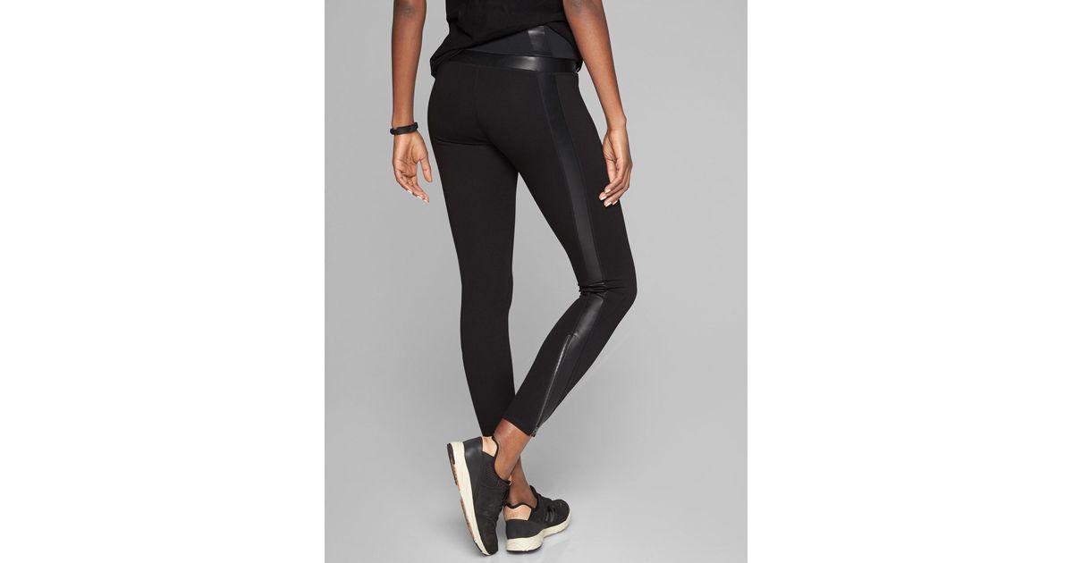 6b8bce47b8 Athleta Black Ponte Luxe Legging XXS NWT Clothing, Shoes & Accessories  Women's Clothing