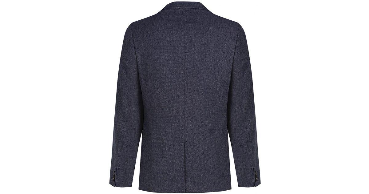 a3319c79c4e61e Lyst - Ted Baker Men s Wingit Mini Design Blazer in Blue for Men