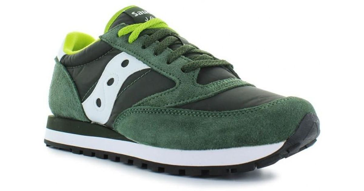 brand new 5e35d 46978 Saucony - Originals Dark Green Jazz Sneaker 42.5 for Men - Lyst