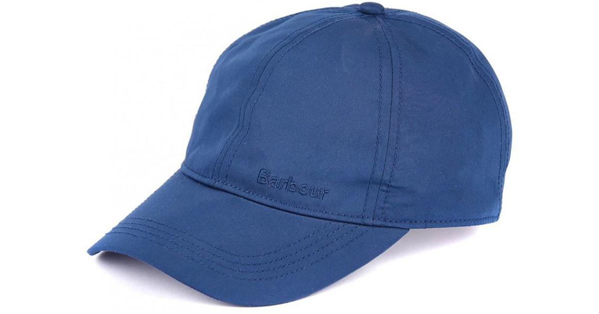 68221148cc6 Lyst - Barbour Men s Berwick Sports Cap in Blue for Men