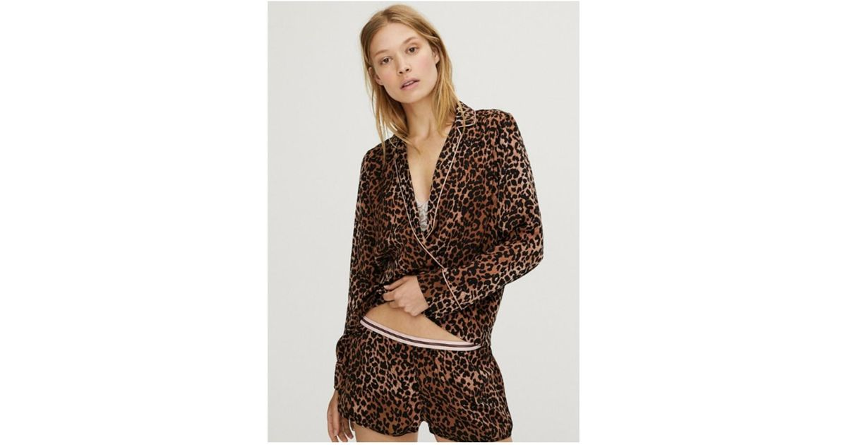 c620db40 Lyst - Love Stories Vigo Pyjama Shirt in Brown