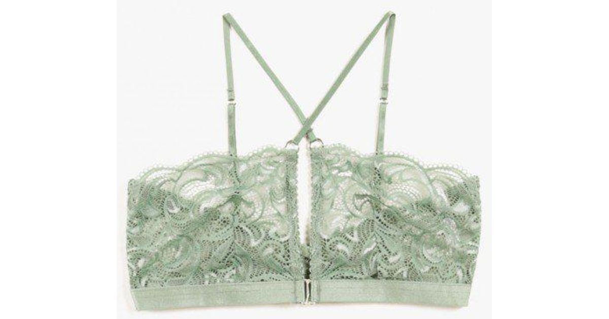 fe8d7b480a Lonely Hearts Penny Softcup Bra in Green - Lyst