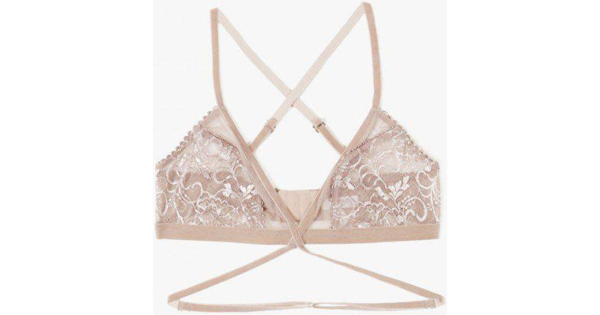 a715066c82 Lyst - Lonely Hearts Winona Softcup Bra
