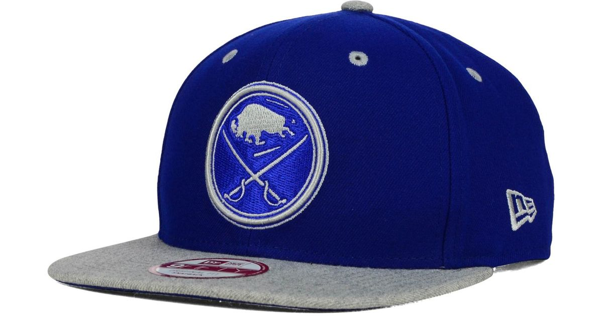 huge selection of 08fae fe4fb ... denmark lyst ktz buffalo sabres color pop heather 9fifty snapback cap  in blue for men bf8e3
