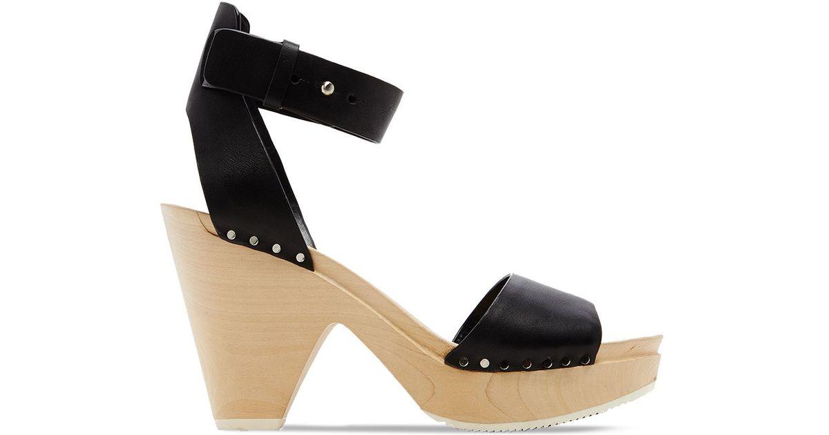 dolce vita platform clog sandals nalia in black lyst