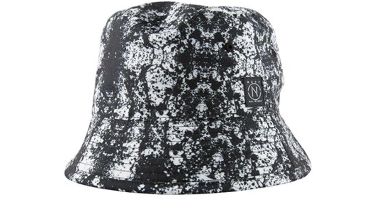 ce912db5f2f77 Lyst - Neff Reversible Bucket Hat in Black for Men