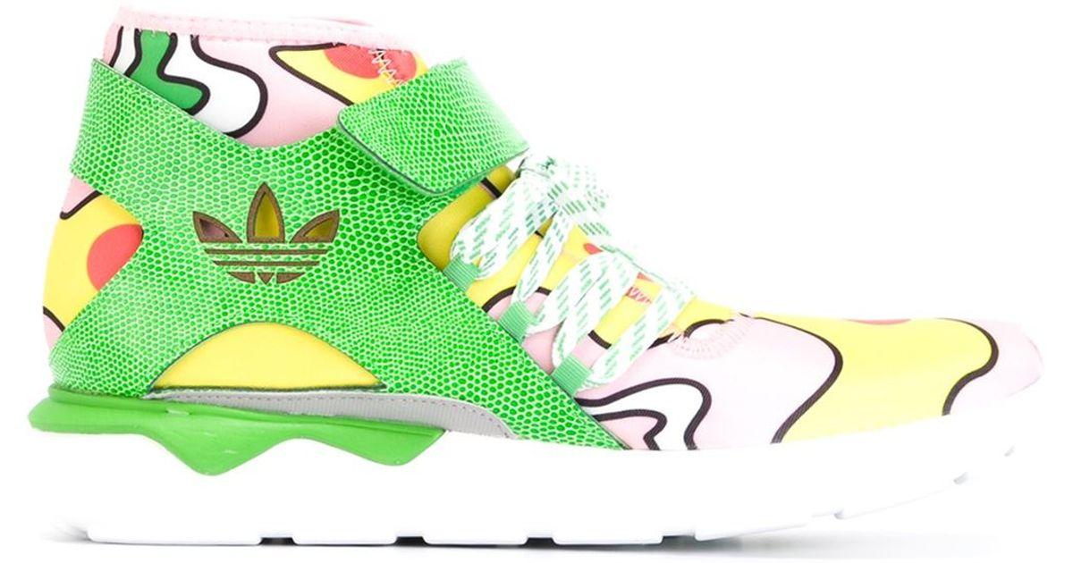 f334285b2038 adidas Originals  jeremy Scott Tubular  Hi-top Sneakers for Men - Lyst