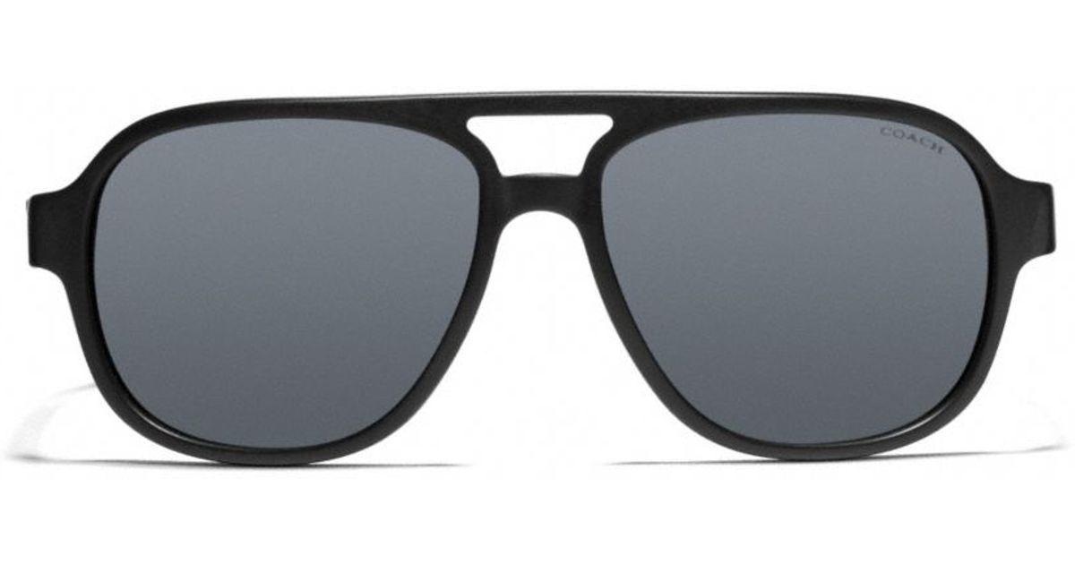 c0415f8cf6 ... clearance lyst coach franklin sunglasses in black for men 15bc4 2d8cf