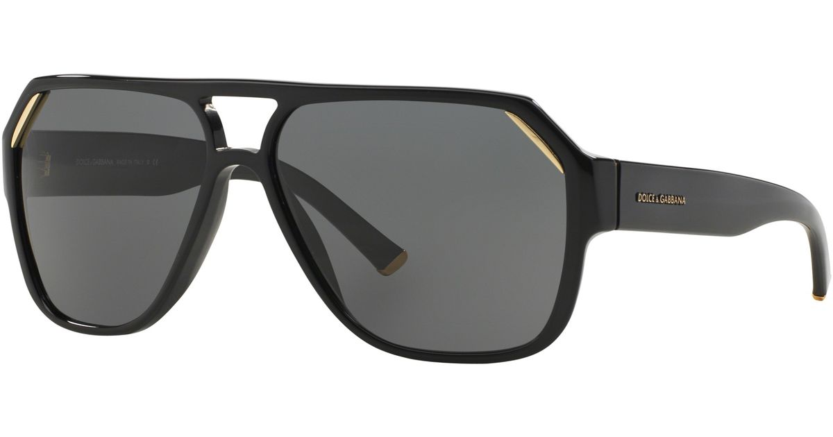 9a246eabe0 ... DG 4138 PURPLE 2543 87 DG4138 Dolce   gabbana Dolce And Gabbana Dg4138  Geometric Sunglasses in Black