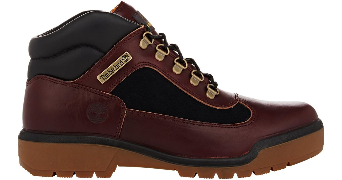 Timberland Men's Field Boots in Red for Men | Lyst
