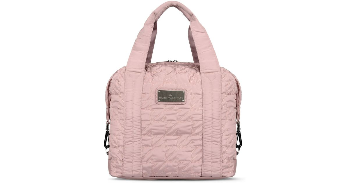fac01ff18bf7 ... Lyst - Adidas By Stella Mccartney Small Gym Bag in Gray finest  selection bed7b 64eb0 ...