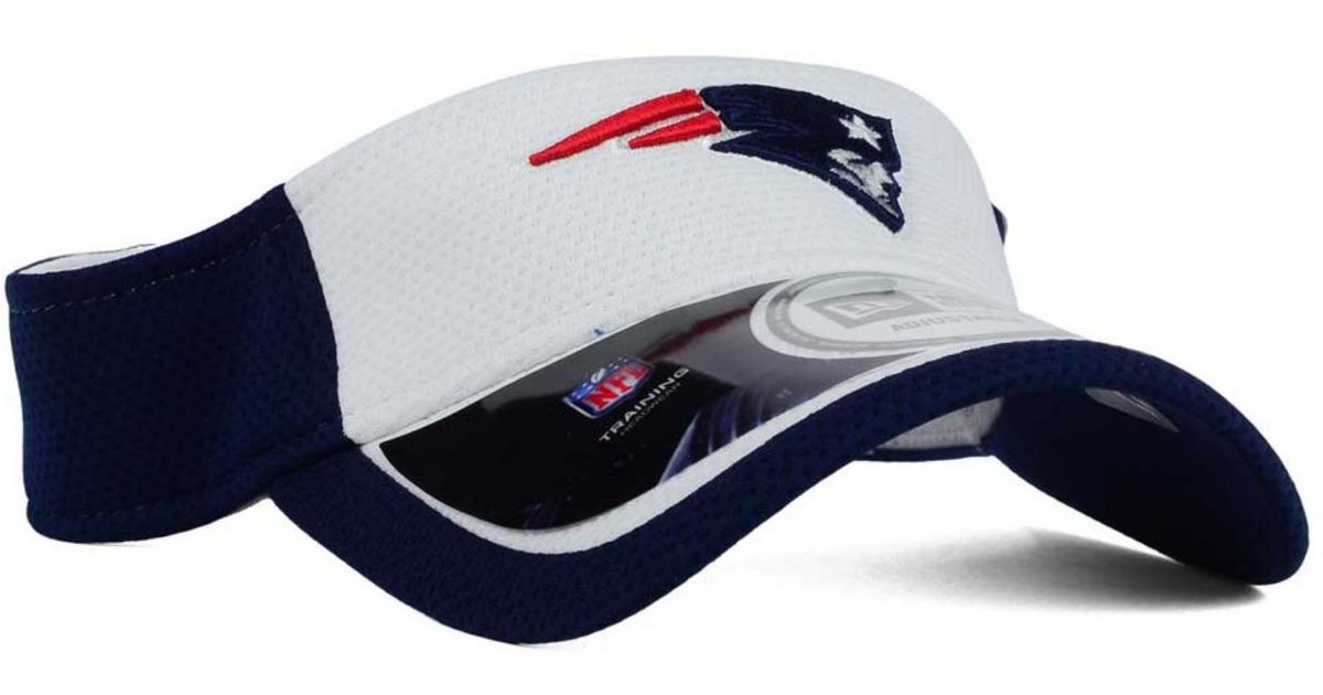 Lyst Ktz New England Patriots Training Camp Official Visor In White