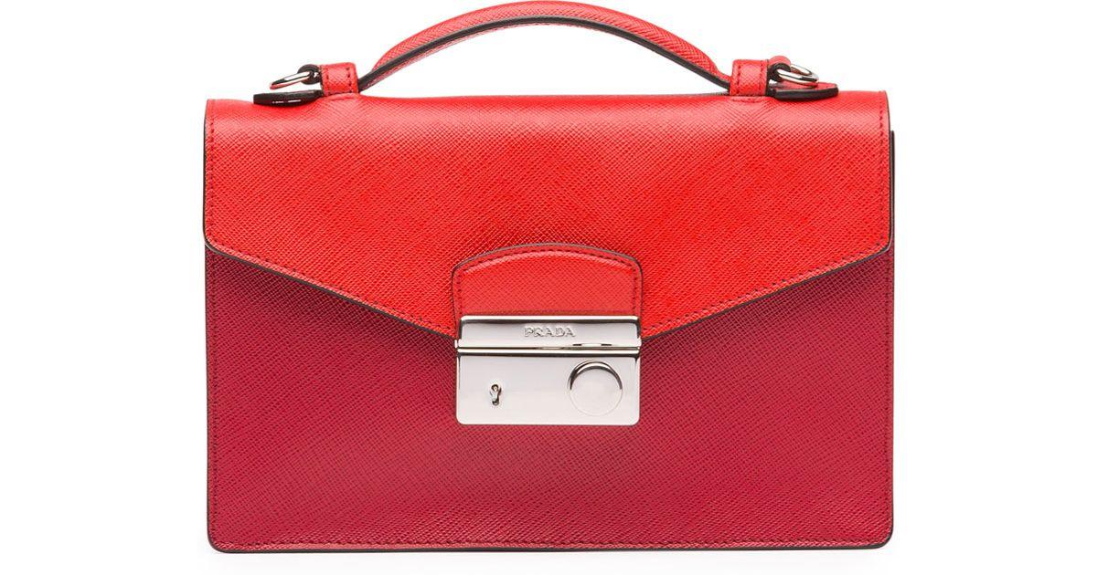 replica prada handbags online - prada galleria bag lacquer red 1