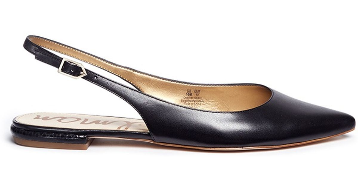 Sam Edelman Slingback Flat Shoes