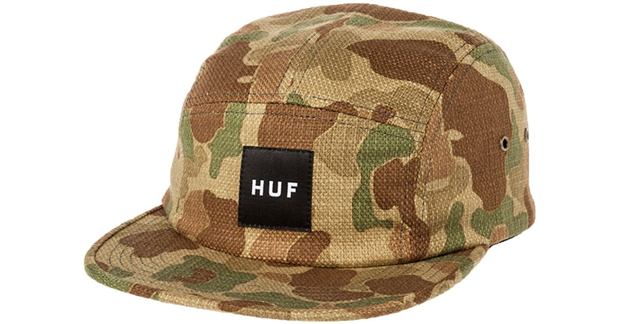 741a5d499f8 Lyst - Huf The Japanese Camo 5 Panel in Green for Men