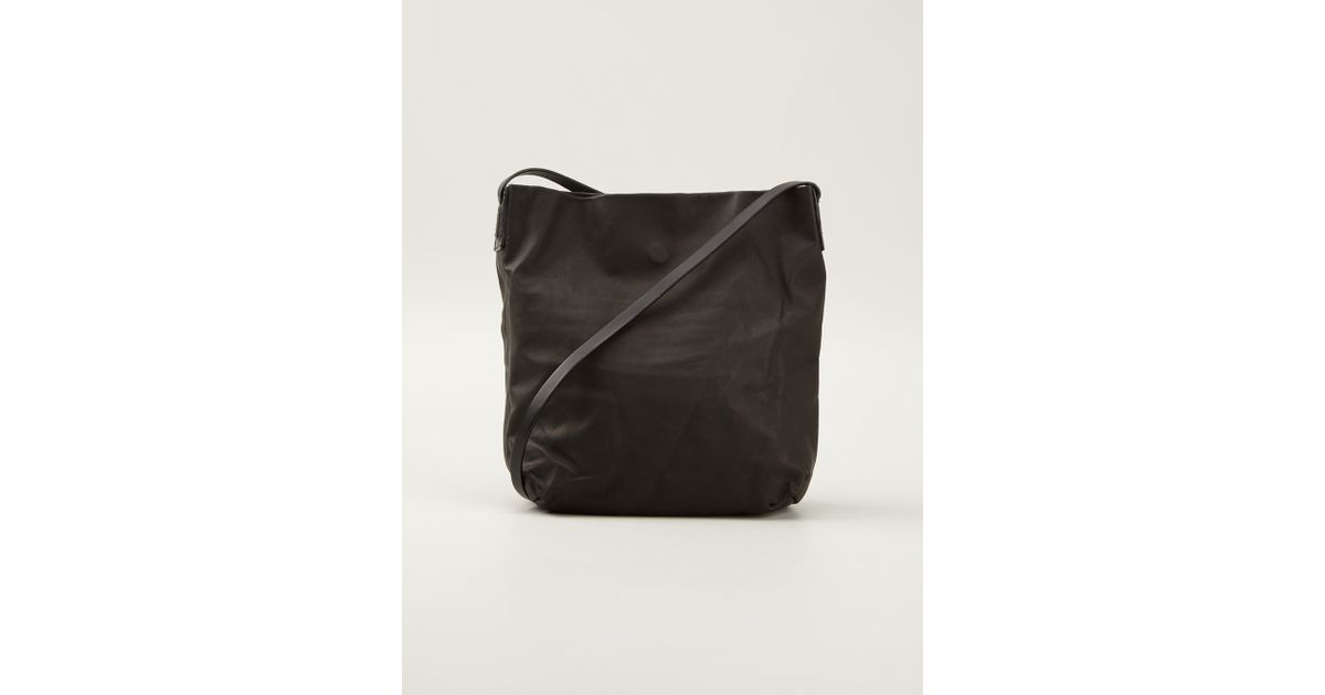 Rick Owens Black Small Pouch Bag Lyst