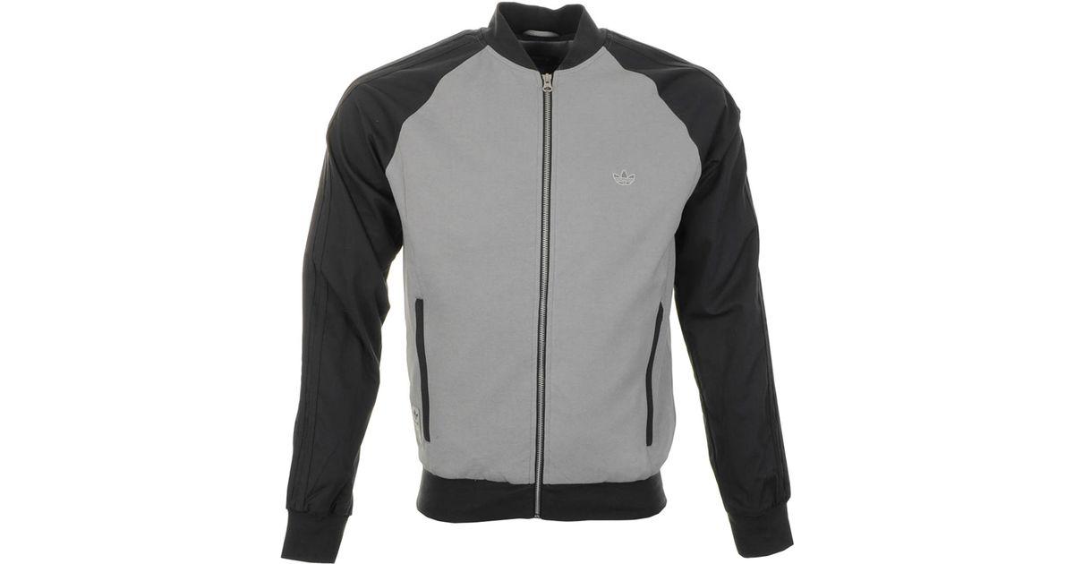Lyst Originals For Men Adidas Jacket Gray Track Superstar A4Lc35jqR
