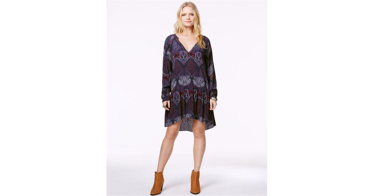 Plus Size Drop Waist Shift Dress
