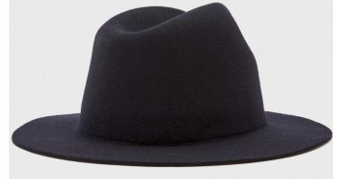 Lyst - A.P.C. Wool Hat in Blue eb8cf21359b