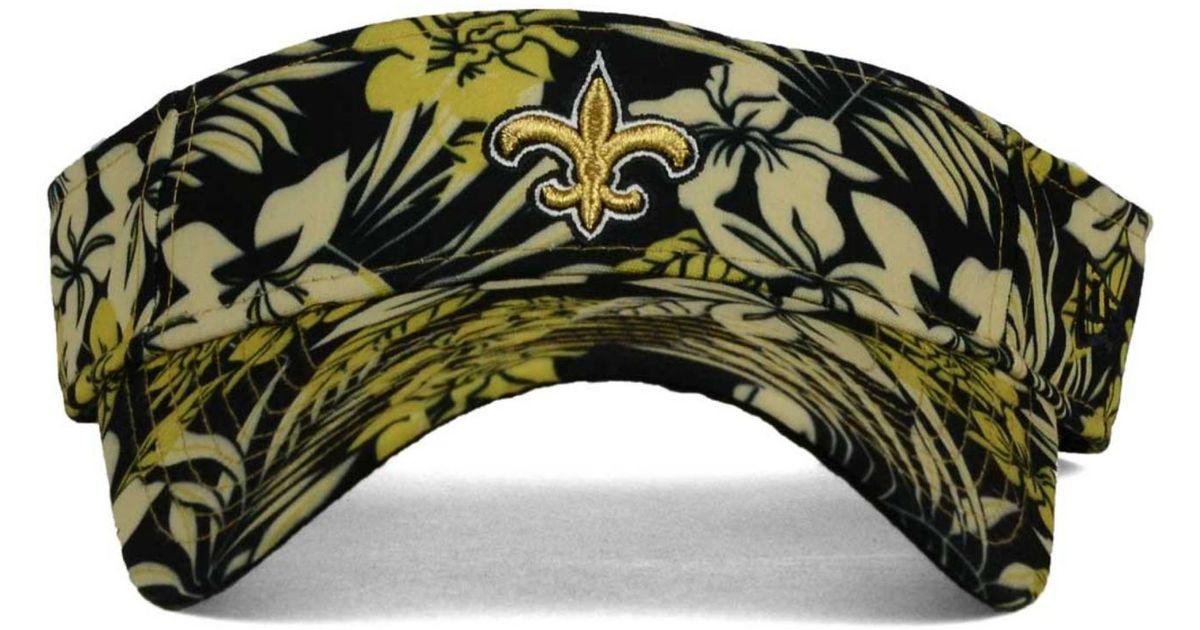c7f86fa64f7 Lyst - KTZ New Orleans Saints Wowie Visor in Black for Men