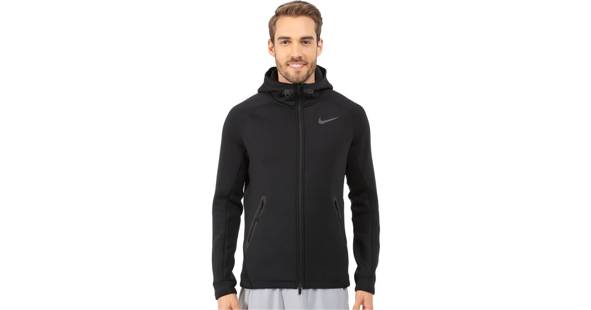 be5381b144c2 Lyst - Nike Therma-sphere Max Training Jacket in Black for Men