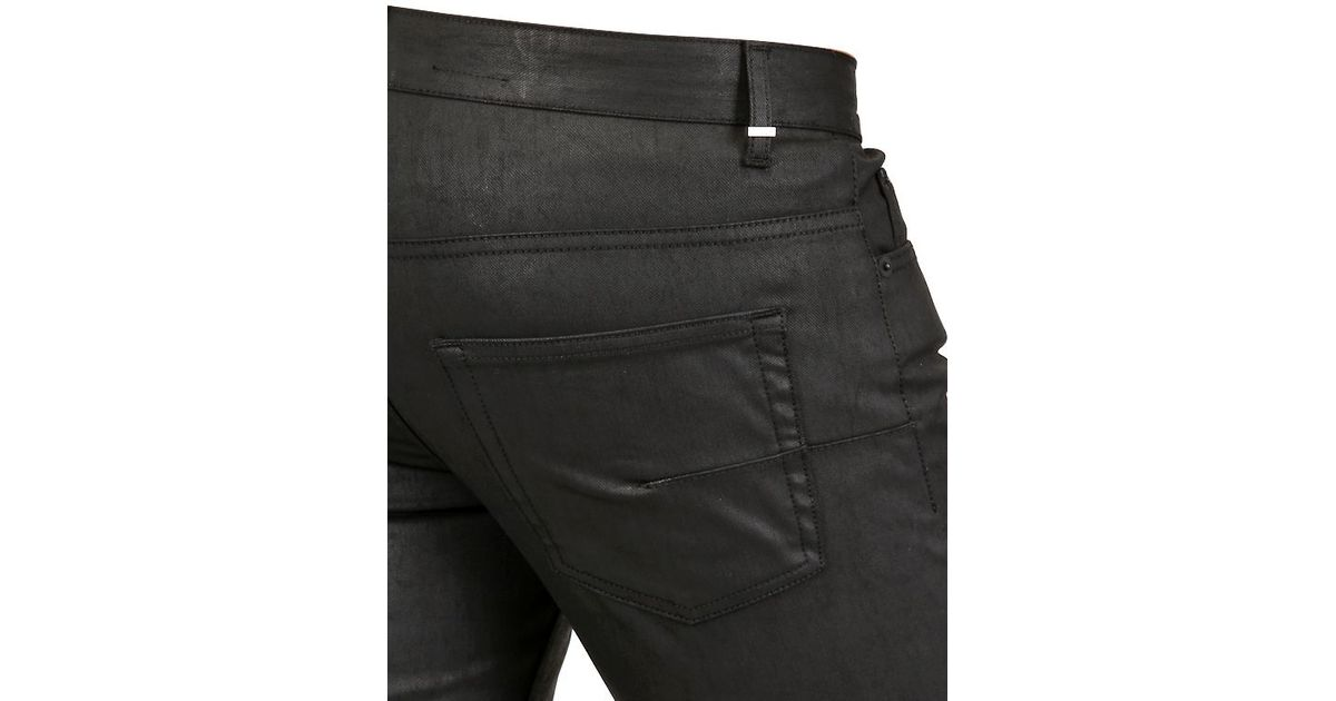 Dior homme waxed jeans