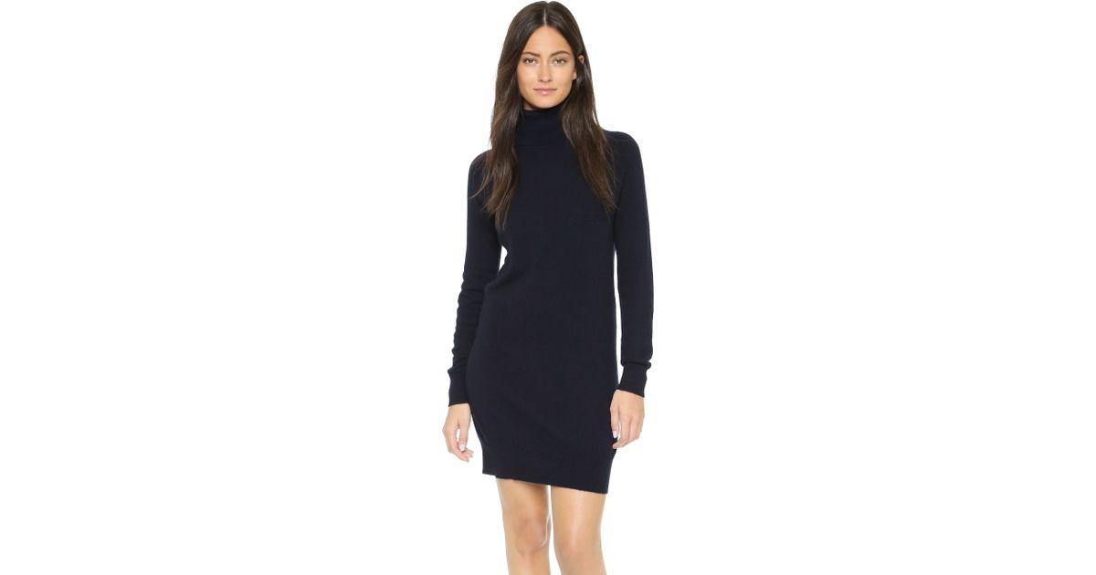12a5635f7b6 Lyst - DEMYLEE Bianca Cashmere Dress in Blue