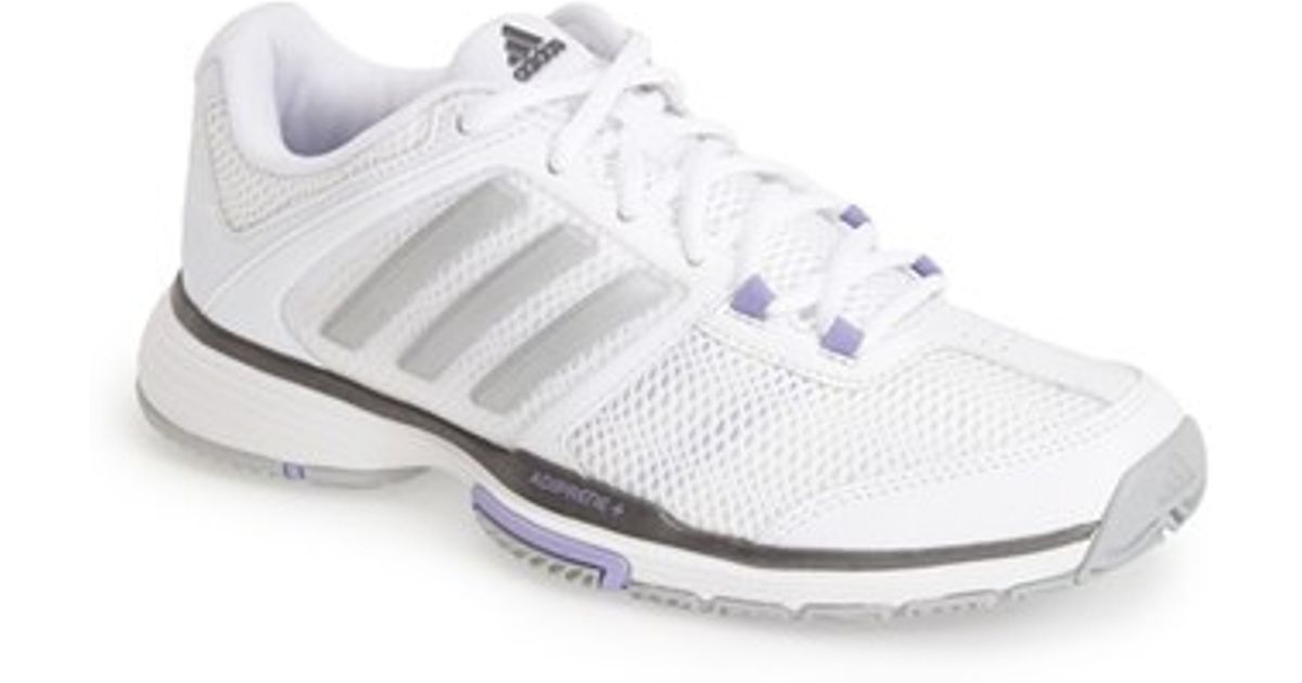 new style 4d0f2 fff47 Lyst - Adidas adipower Barricade Team 4 Tennis Shoe in Natur