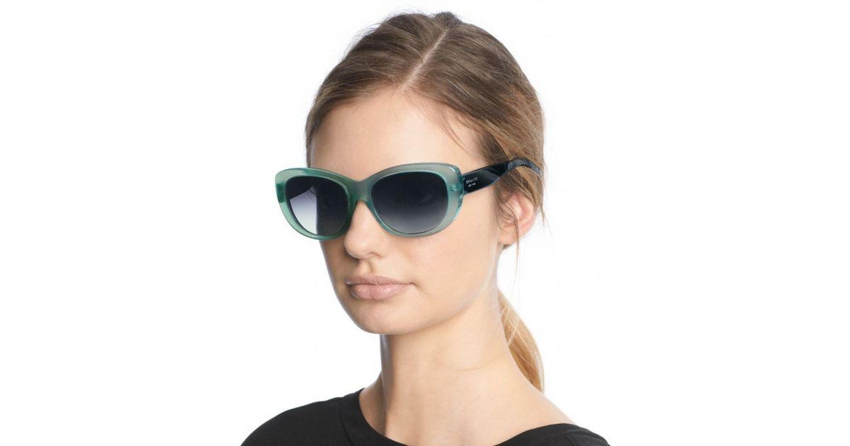 5a4e8aee0607a ... france lyst coach darcy sunglasses in blue eee48 e003b