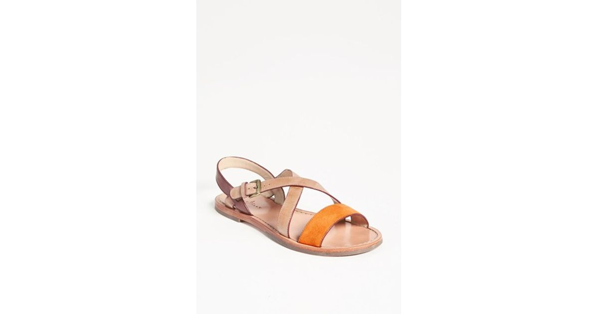 6c5e5a9d4b88 Lyst - Cole Haan  minetta  Sandal in Natural