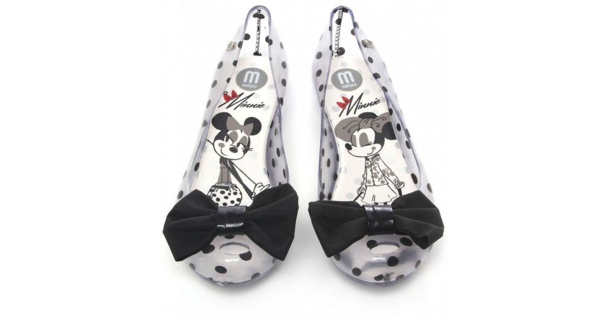 6b51367e4bdf Lyst - Melissa Minnie Mouse Ultragirl Bow Pumps in Black