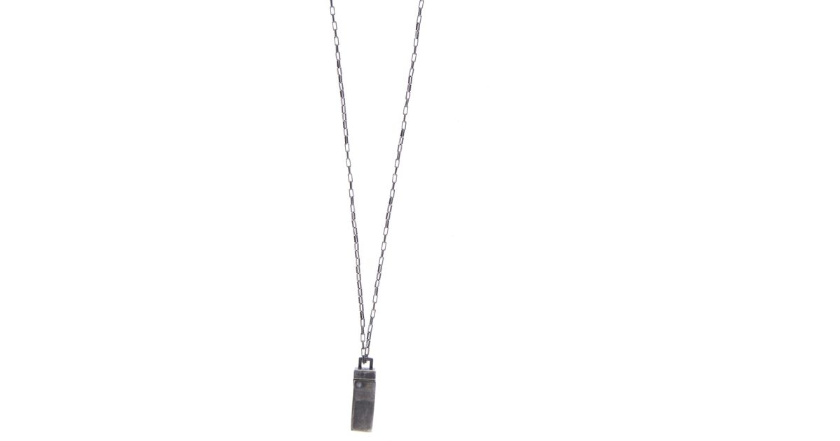 Title Of Work Saturn sterling-silver necklace SfRZ2d