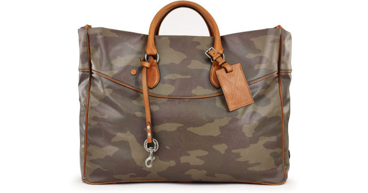 a886365057 Lyst - Ralph Lauren Large Camo Tote in Brown for Men