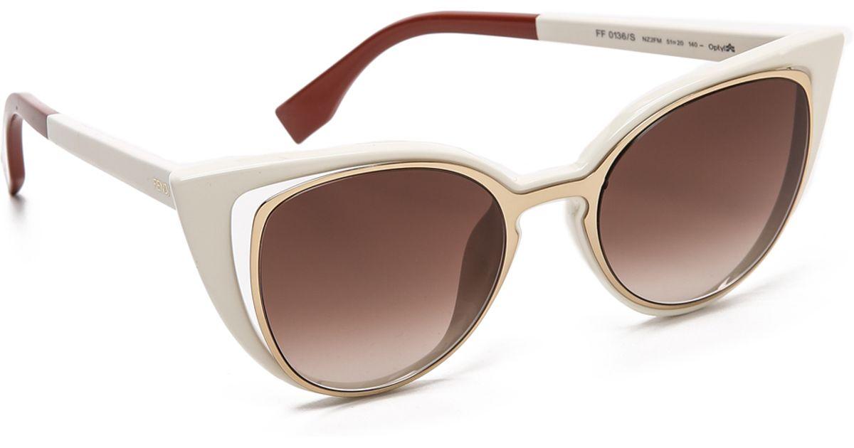 14d0364472f12 Fendi Cat Eye Sunglasses 2015