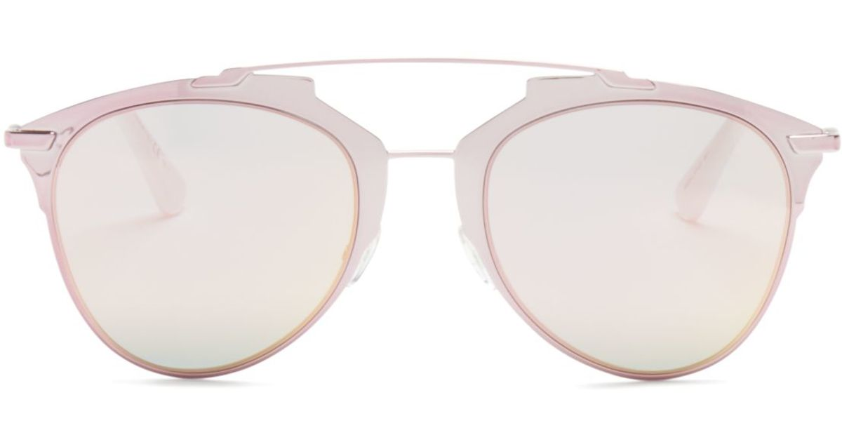 0e2f4694592c4 Dior Reflected Sunglasses in Pink - Lyst