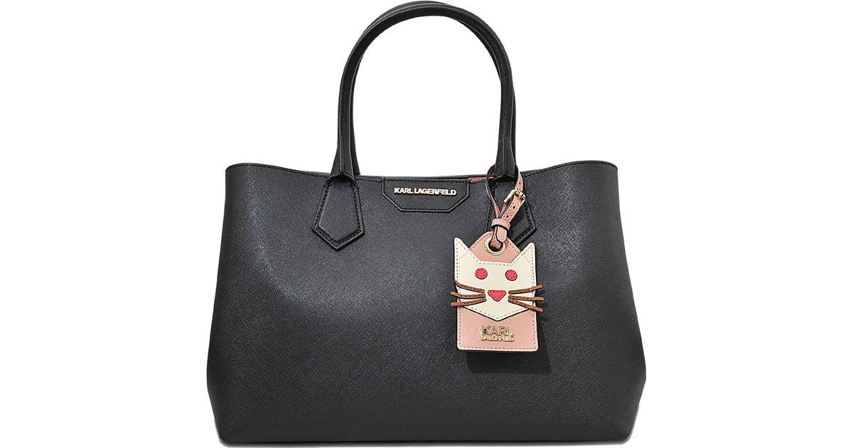 K In Bag Karl Black Lyst Shopper Lagerfeld 1xqqw5a