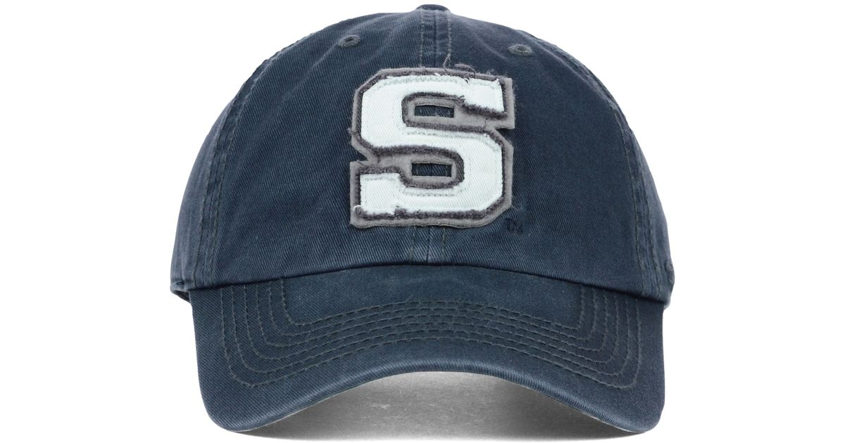 d66ffdbc ... spain lyst 47 brand penn state nittany lions gibraltar clean up cap in  blue for men